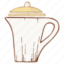 coffee, coffeepot, kettle, pot icon