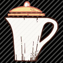 coffee, coffeepot, kettle, pot icon