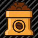 bag, beans, coffee, sack icon