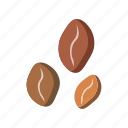 beans, cafe, cappuccino, coffee, drink icon