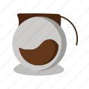 coffee, coffee pot, cup, drink, glass, holder, vase icon