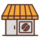 cafe, coffee, coffee bar, coffee shop, drink icon