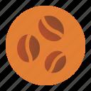 coffee, cookies, food icon
