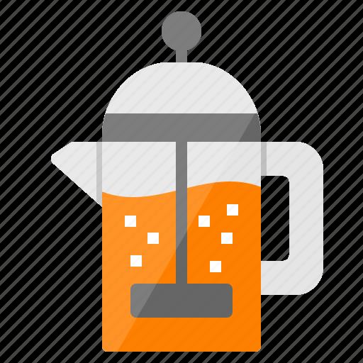 barista, brew, coffee, drink, frenchpress icon