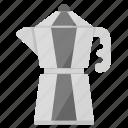 barista, coffee, drink, mokapot, tool icon