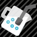 jar, milk, pitcher, stream, utensil icon