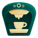 americano, coffee, hot, machine, mocha icon
