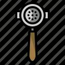 coffee maker, portafilter, coffee, filter, barista icon