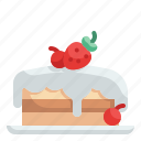 cake, dessert, bakery, birthday, sweet