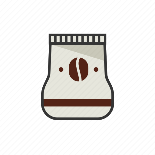 beans, coffee, sack, shop icon