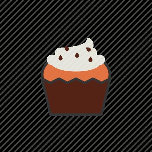 coffee, cupcake, dessert, muffin, shop icon