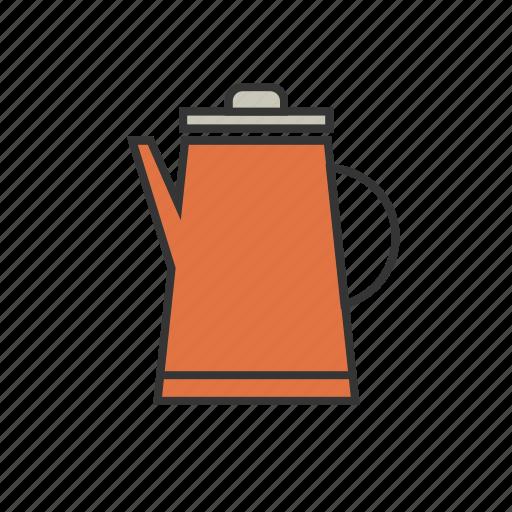 coffee, jug, pitcher, shop, steamer icon
