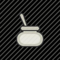 coffee, cream, milk, powder, shop, sugar icon