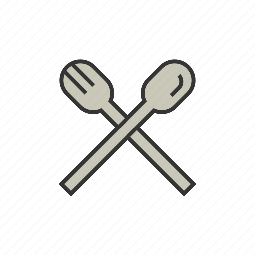 coffee, fork, shop, spoon, utensils icon