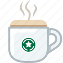 caffeine, coffee, cup, drink, glass, presso, yumminky icon