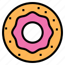 cafe, coffee, dessert, donut, sweet icon
