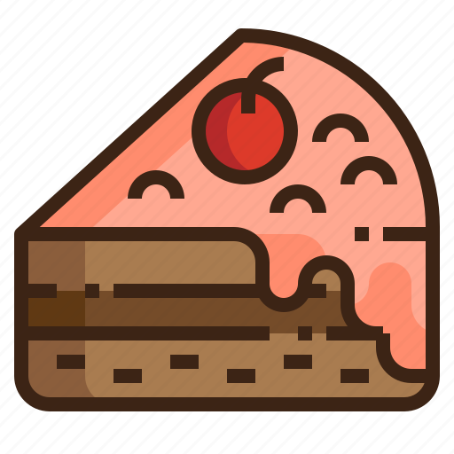 baked, bakery, cake, cream, dessert, food, sweet icon