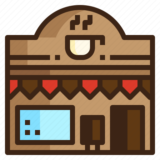 bar, cafe, coffee, restaurant, shop, store icon