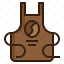 apparel, apron, chef, clothes, cook, cooking, uniform icon