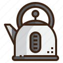 beverage, coffee, kettle, kitchenware, pot, teapot icon