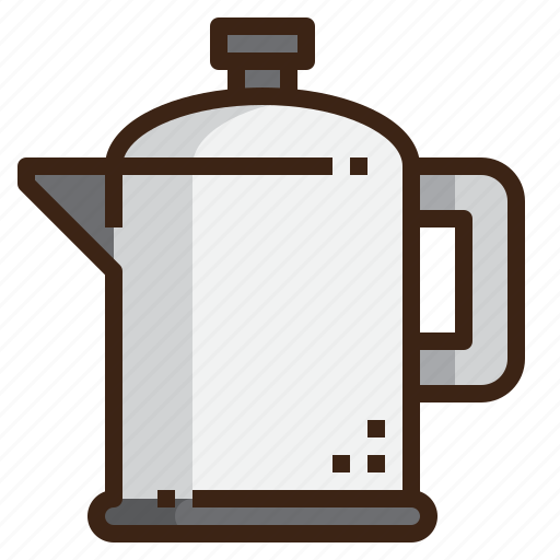 coffee, drink, espresso, kitchenware, maker, percolator, pot icon