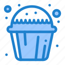 cake, cup, muffin, sweet icon