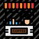 bar, cafe, coffee, counter, shop