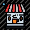 cafe, coffee, shop