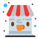 cafe, coffee, shop icon