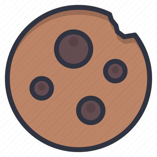 cafe, chocolate, cookies, food, snack icon