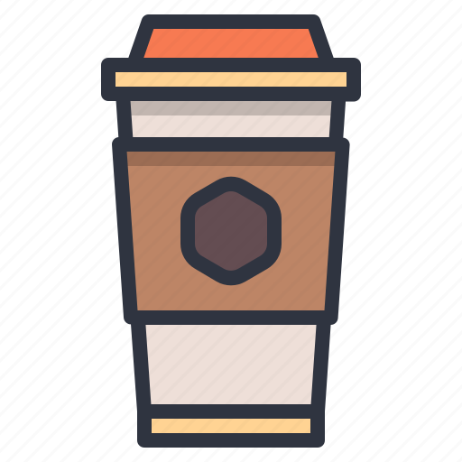 coffee, cup, hot, paper, water icon