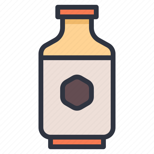 beverage, bottle, cafe, milk icon