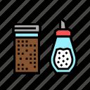 cinnamon, sugar, bottle, coffee, shop, equipment