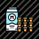 milk, cream, coffee, shop, equipment, cafe