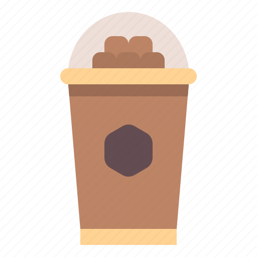 chocolate, coffee, cup, drink, ice icon