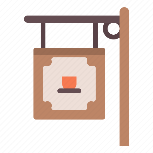 Cafe, coffee, shop, sign icon - Download on Iconfinder