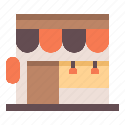cafe, coffee, shop, stall icon