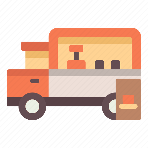 cafe, coffee, shop, truck icon
