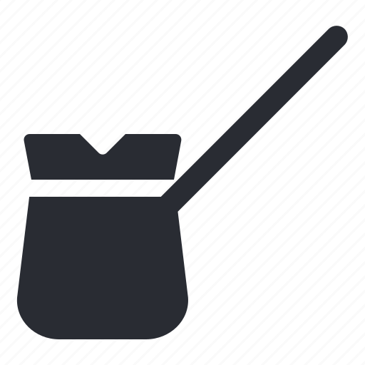 cezve, coffee, pot, tool icon
