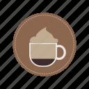 beverage, cafe, cappucino, coffee, cream, milk, cup