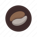 beans, beverage, cafe, coffee, coffee time, cup icon