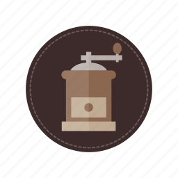 beverage, cafe, coffee, cup, drink, grinder, hot icon