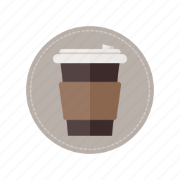 beverage, coffee, cup, drink, hot, milk icon