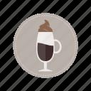 beverage, coffee, cold, cream, milk, cup, drink