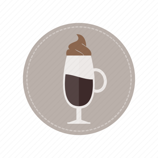 beverage, coffee, cold, cream, cup, drink, milk icon