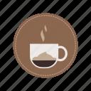 coffee, espresso, macchiato, milk, beverage, cup, drink