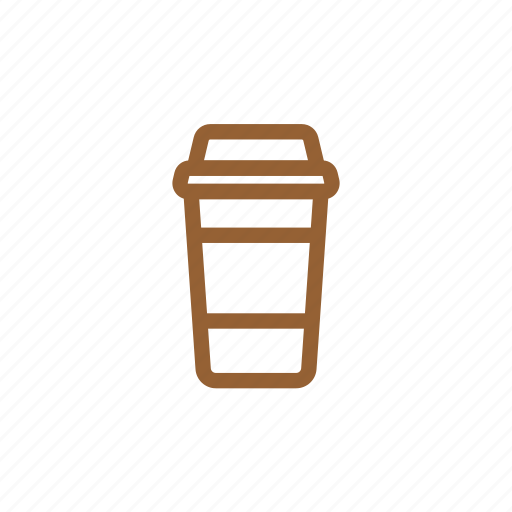 cafe, coffee, coffeecup, cup, drink, hot, paper cup icon