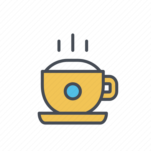 beverage, capuccino, coffee, cup, hot drink icon