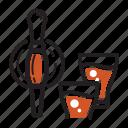 brew, coffee, cold, order, serve, tap icon