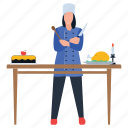 casual dining, culinary artist, food preparation, homemade food, prepared food icon